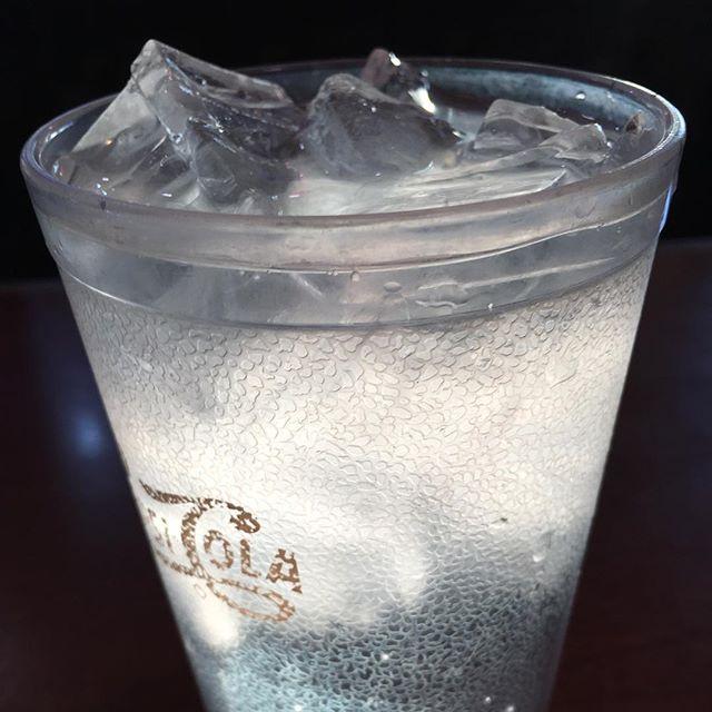 PHOTO EVIDENCE: Diner Water. #midwestnights #humandog #eastside #chrisweagel